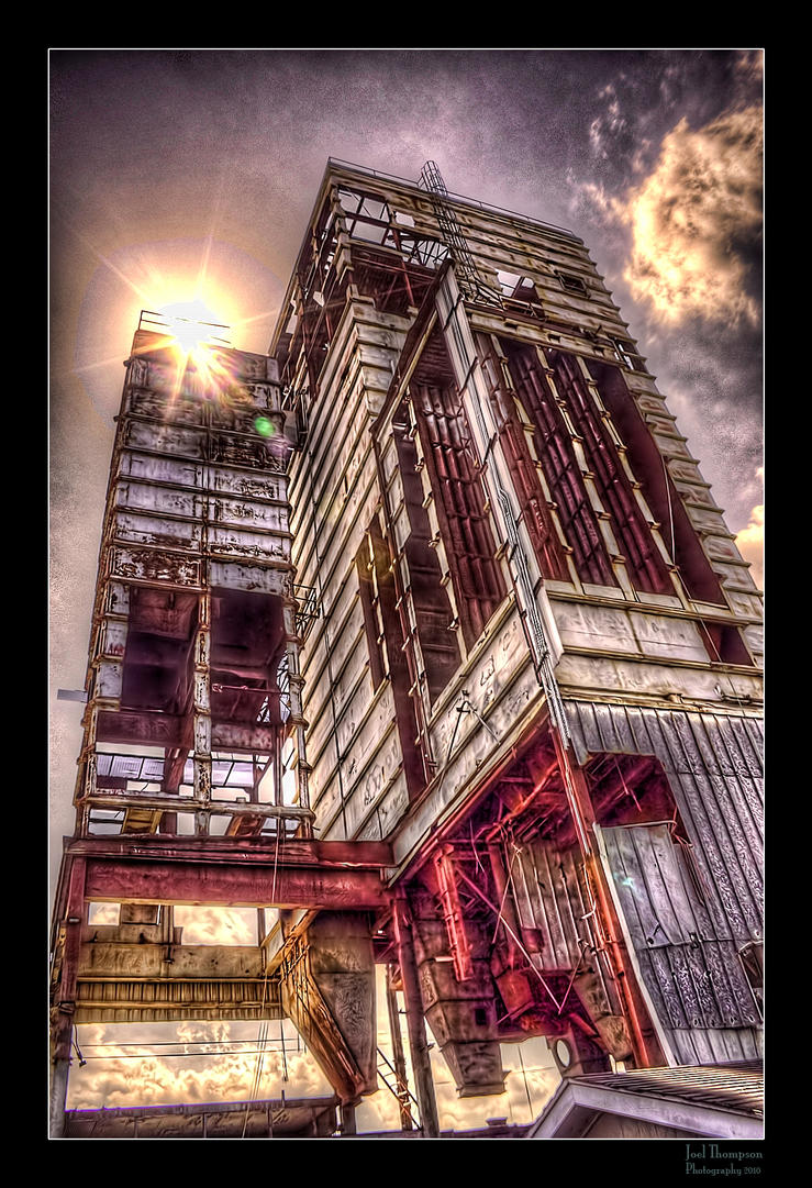 Old Industrial Building HDR by joelht74
