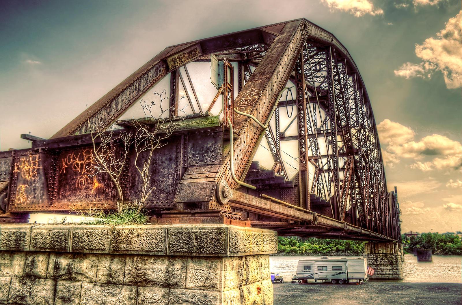 hdr old bridge and - photo #8