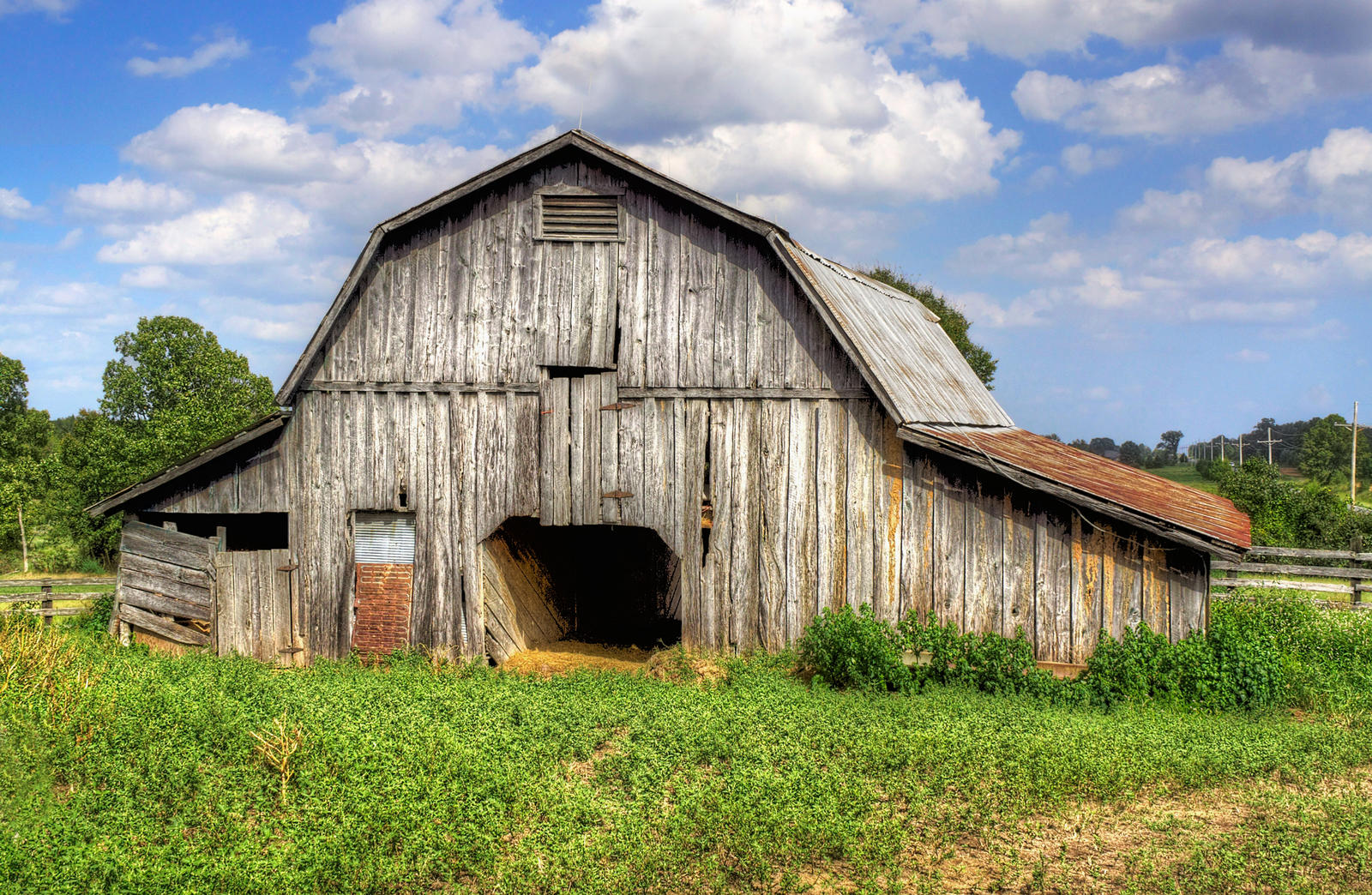 ... Old Barn II HDR by joelht74