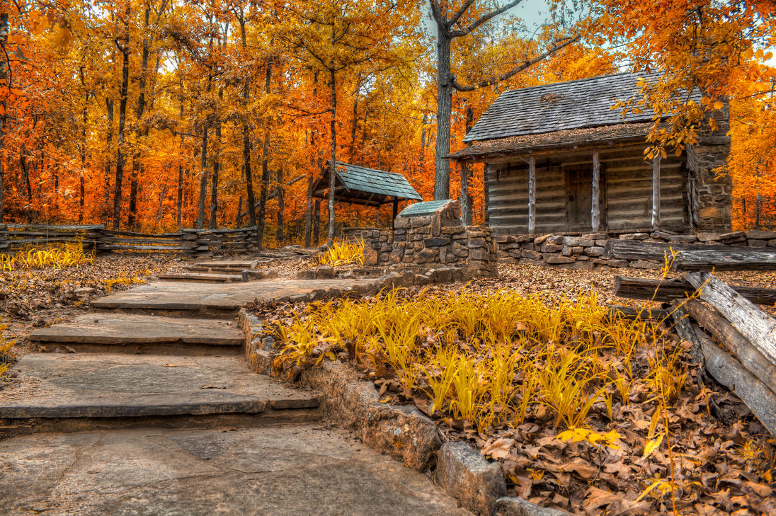 Fall Shack II HDR by joelht74