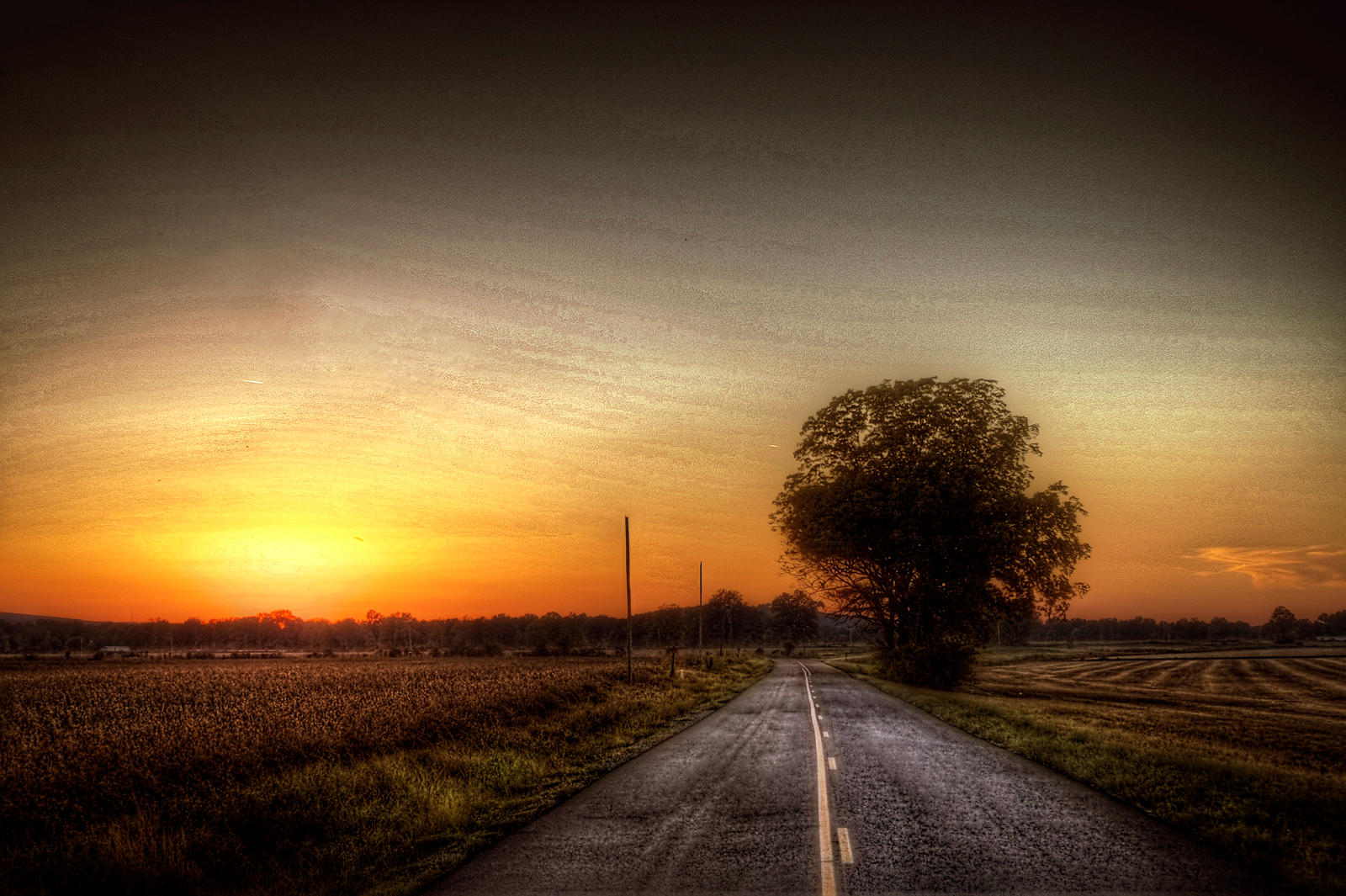 Road Sunset Wallpaper Image Gallery sunset r...