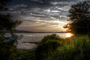 River Shore HDR by joelht74