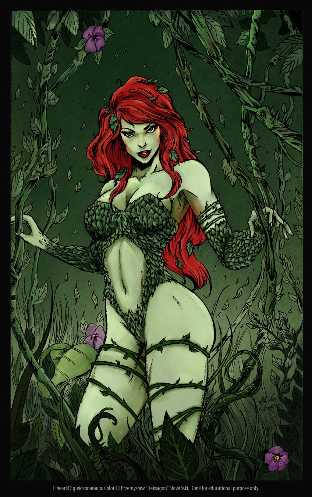 Poison Ivy by Heksagon