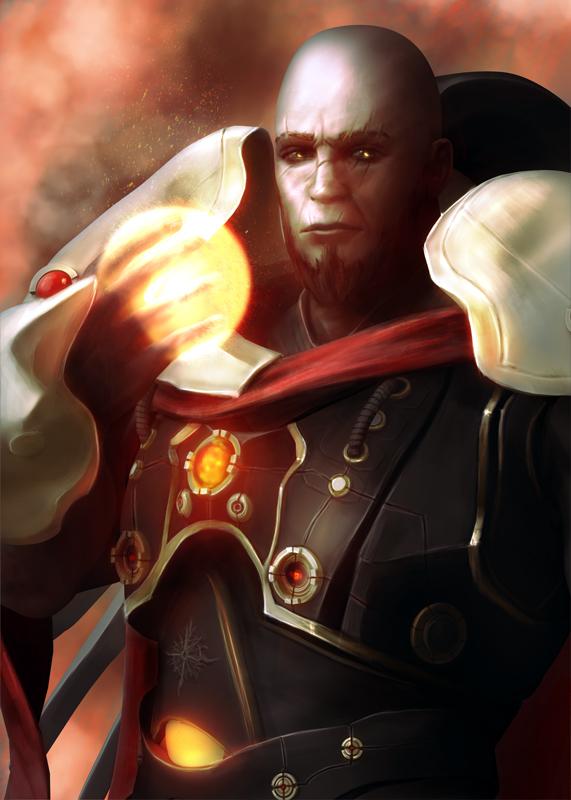 God of the Sun by Heksagon