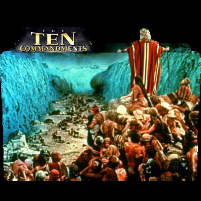 Folder Icon Ten Commandments by PeterPawn