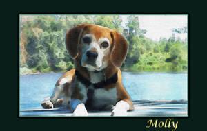 Molly - Watercolor Portrait