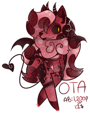 (C) OTA Red Devil Vixen by Dr3amyPast3l