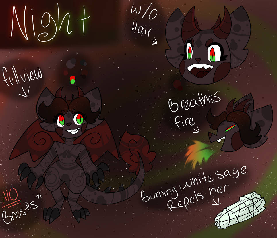 Night Reference Sheet by Dr3amyPast3l
