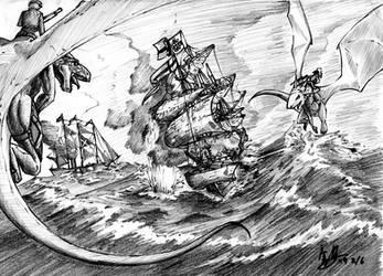 land scape Temeraire fanart by Liamdukes
