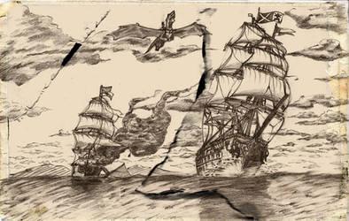 land scape Temeraire fanart-2 by Liamdukes