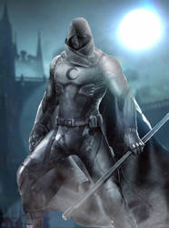 Moon Knight by DCTWDMARVEL