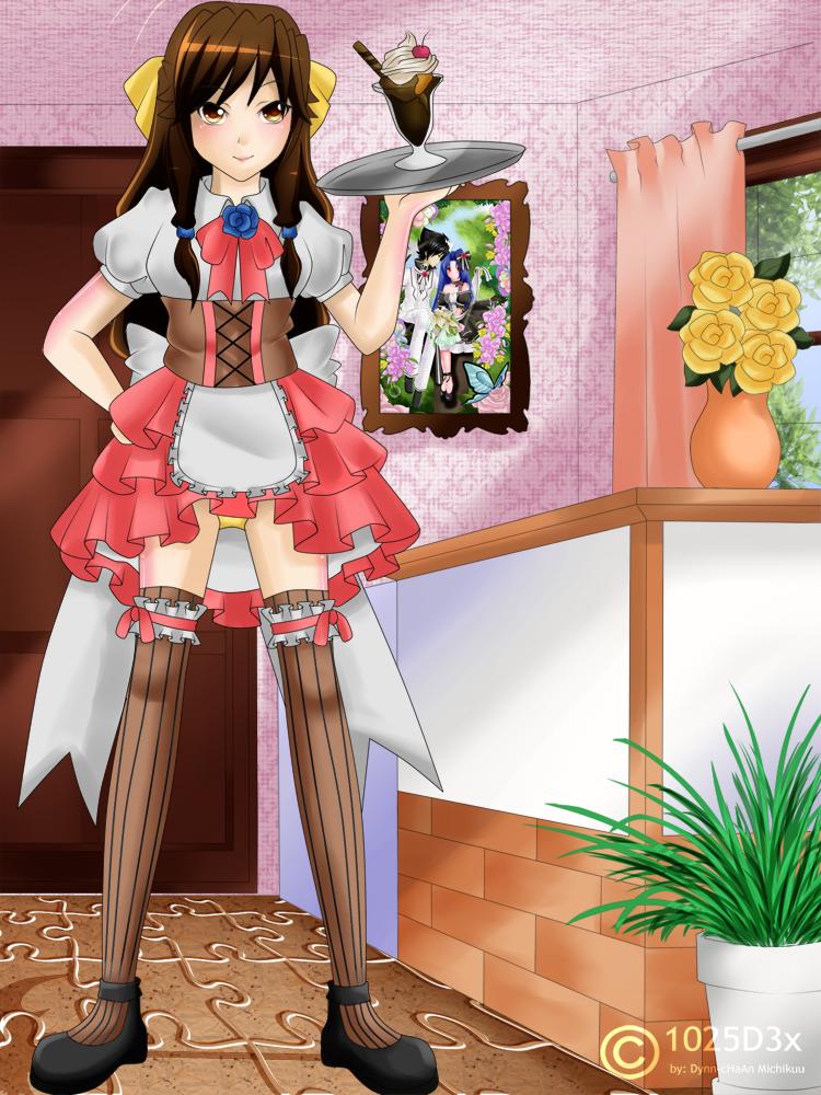 RA: Maid Cafe by Mielluu