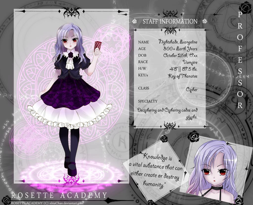 [RosetteA]: Nightshade Evangeline [Cipher] by Mielluu
