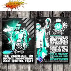 Uk Beatbox Championships Flyer by edward-price