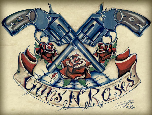Guns N Roses By Davepinsker On Deviantart