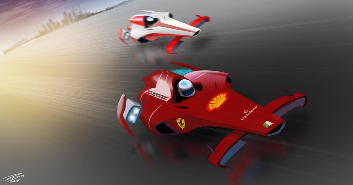 Formula 1 Future by davepinsker