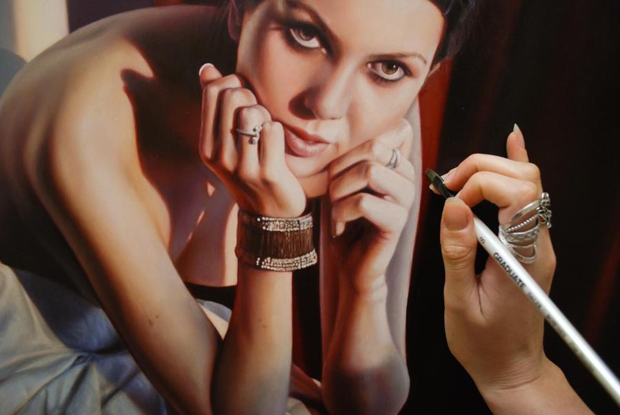 Painting detail again by bronart