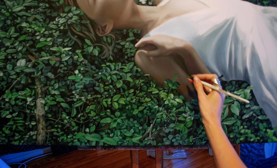 Work in progress - detail by bronart