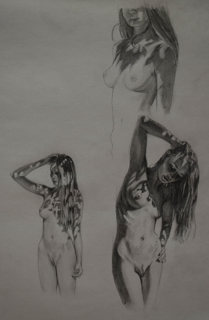 Sketching by bronart