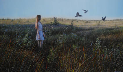 Bird of Passage by bronart