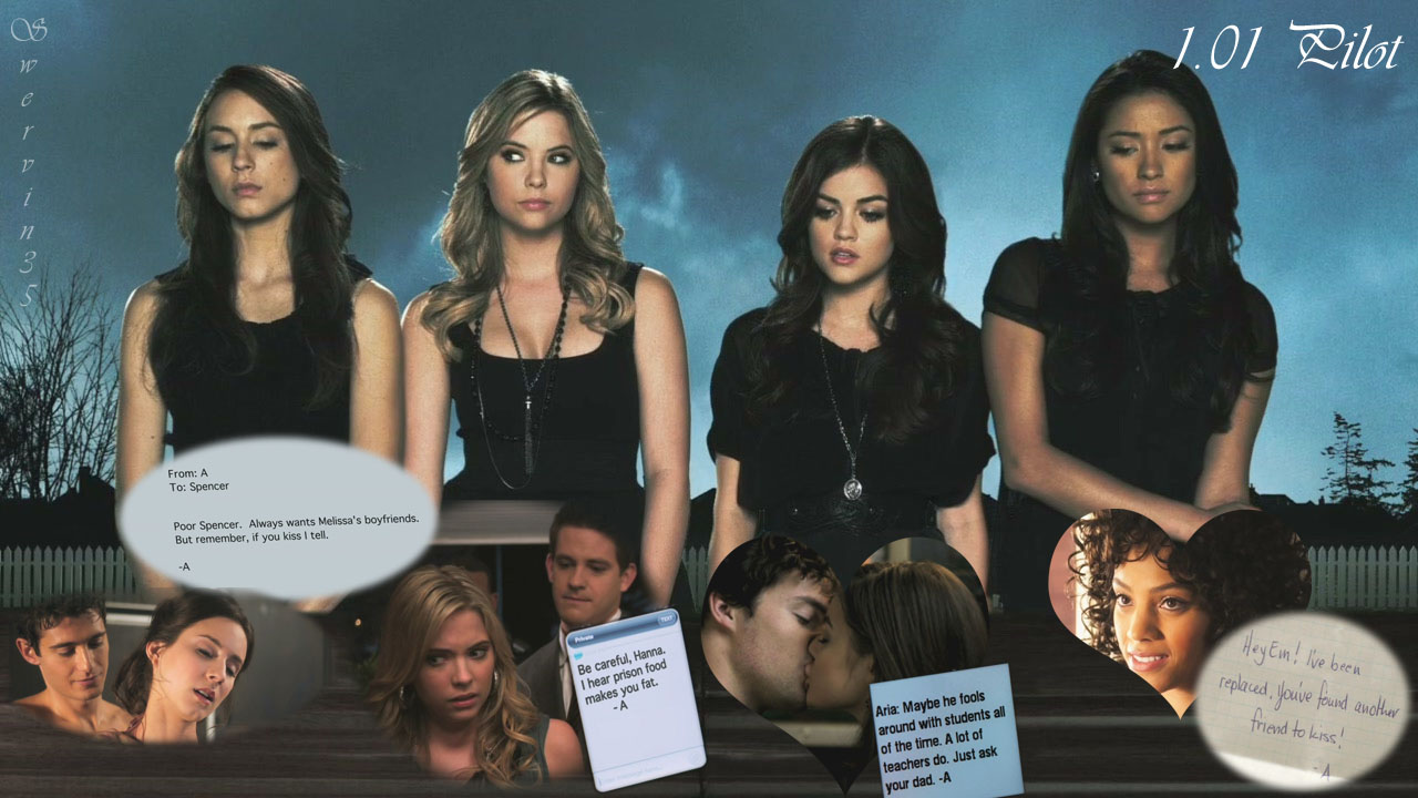 Pretty Little Liars Season 1 Episode 1 by swervin35 on ...