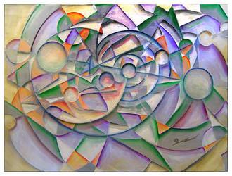 Geometrical Circle of Life by Sozra