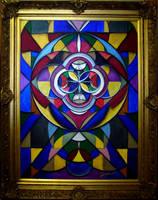 Geometric Gothic 'Source' by Sozra