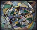 Abstract Geo Whimsical