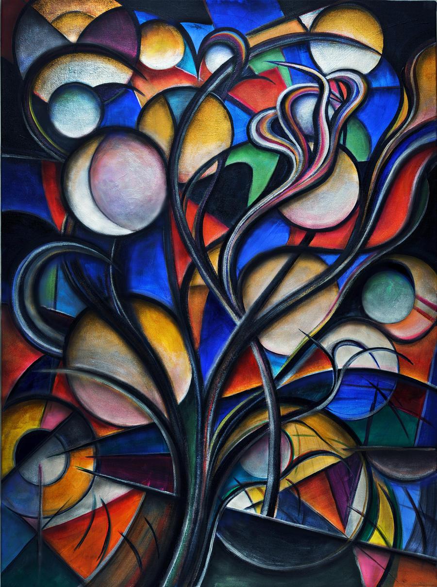 Moon Tree by Sozra