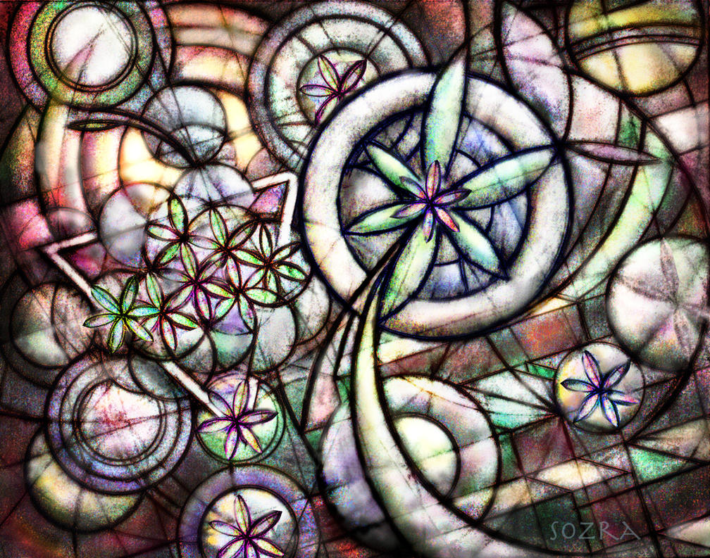 Cosmic Garden by Sozra