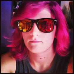 dyed my hair c: by chpmnk