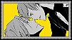 Rin x Nitori stamp by Shichi-Saruko