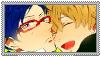 Rei x Nagisa Stamp by Shichi-Saruko
