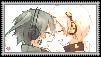 Ene x Konoha Stamp by Shichi-Saruko