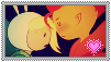 Flameonna stamp by Shichi-Saruko