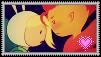 Flameonna stamp by Shichi-Saruko