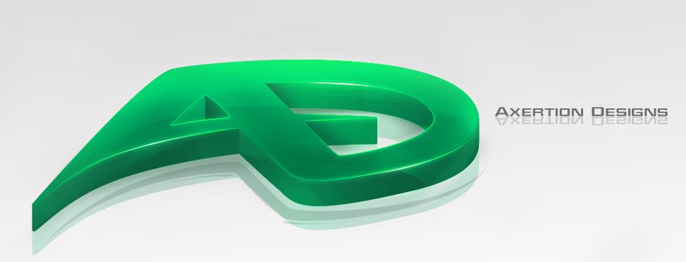 AD Logo - 3D Ele...H Logo 3d