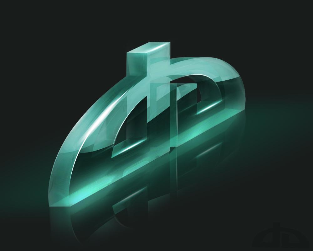 DeviantArt Logo 3D by Axertion