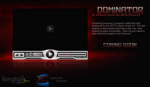 Dominator - FLV Player Skin by Axertion