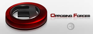 Opposing Forces - 3D Logo