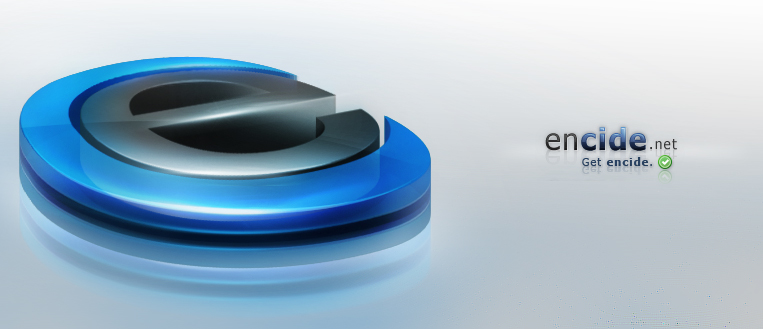 Encide.net - 3D Logo by Axertion