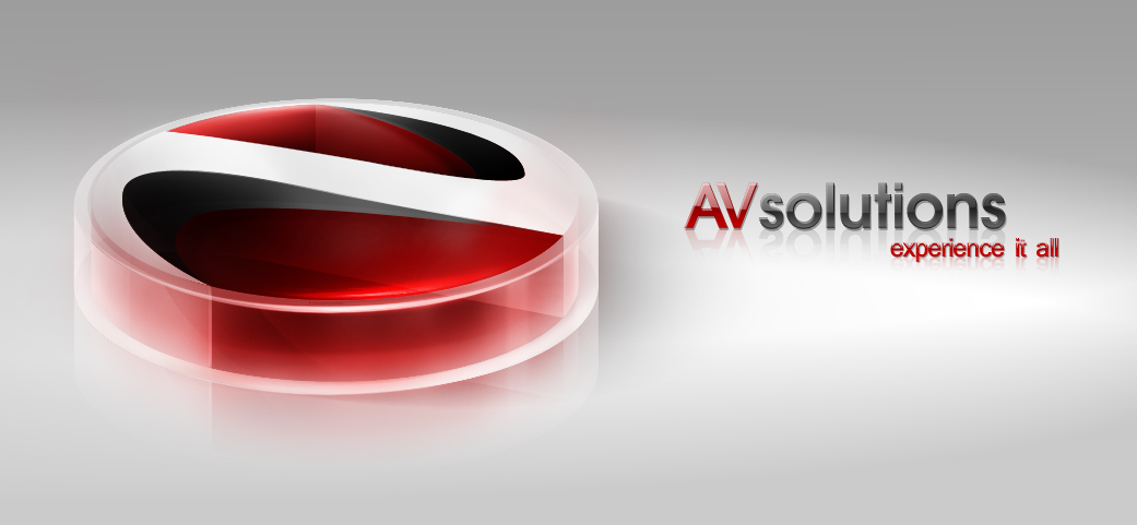 AVsolutions 3D Logo by Axertion