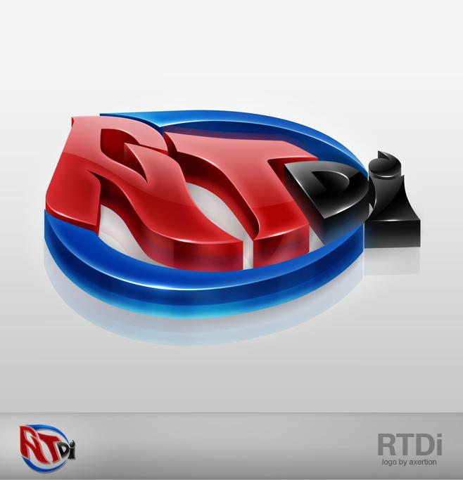 RTdi 3D Logo by Axertion