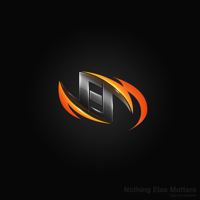 Nothing else matters logo by axertion on deviantart for S design photo
