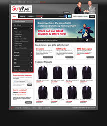 SuitMart - Website Template 1 by Axertion