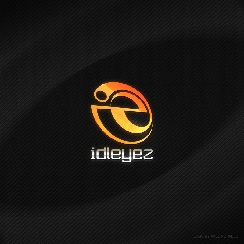 idleyez - Logo by Axertion