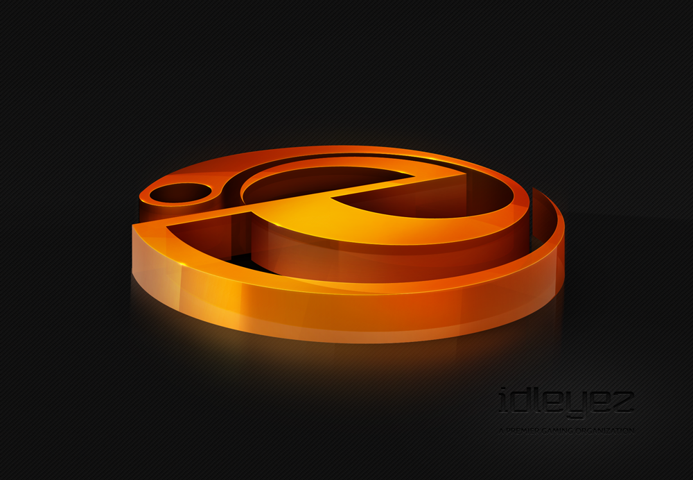 idleyez - 3D Logo by Axertion