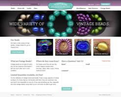 Vintage Beads And More - Magento Website