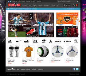 Soccer4All - Magento Website