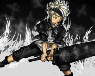 Black Clover Asta by Zacrai